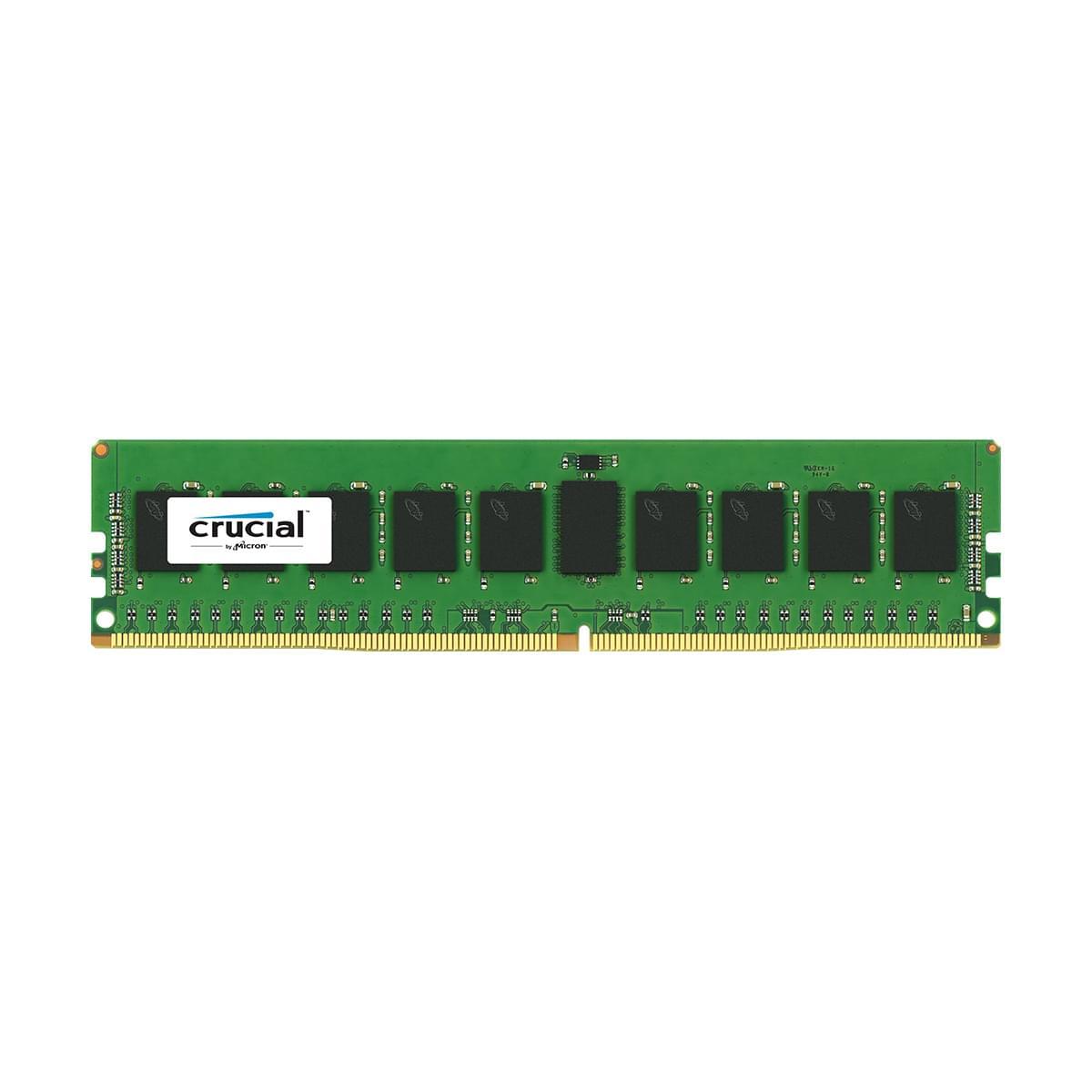 Crucial CT8G4RFS4213 (8Go DDR4 2133 PC17066 ECC) (CT8G4RFS4213) - Achat / Vente Mémoire PC sur Cybertek.fr - 0