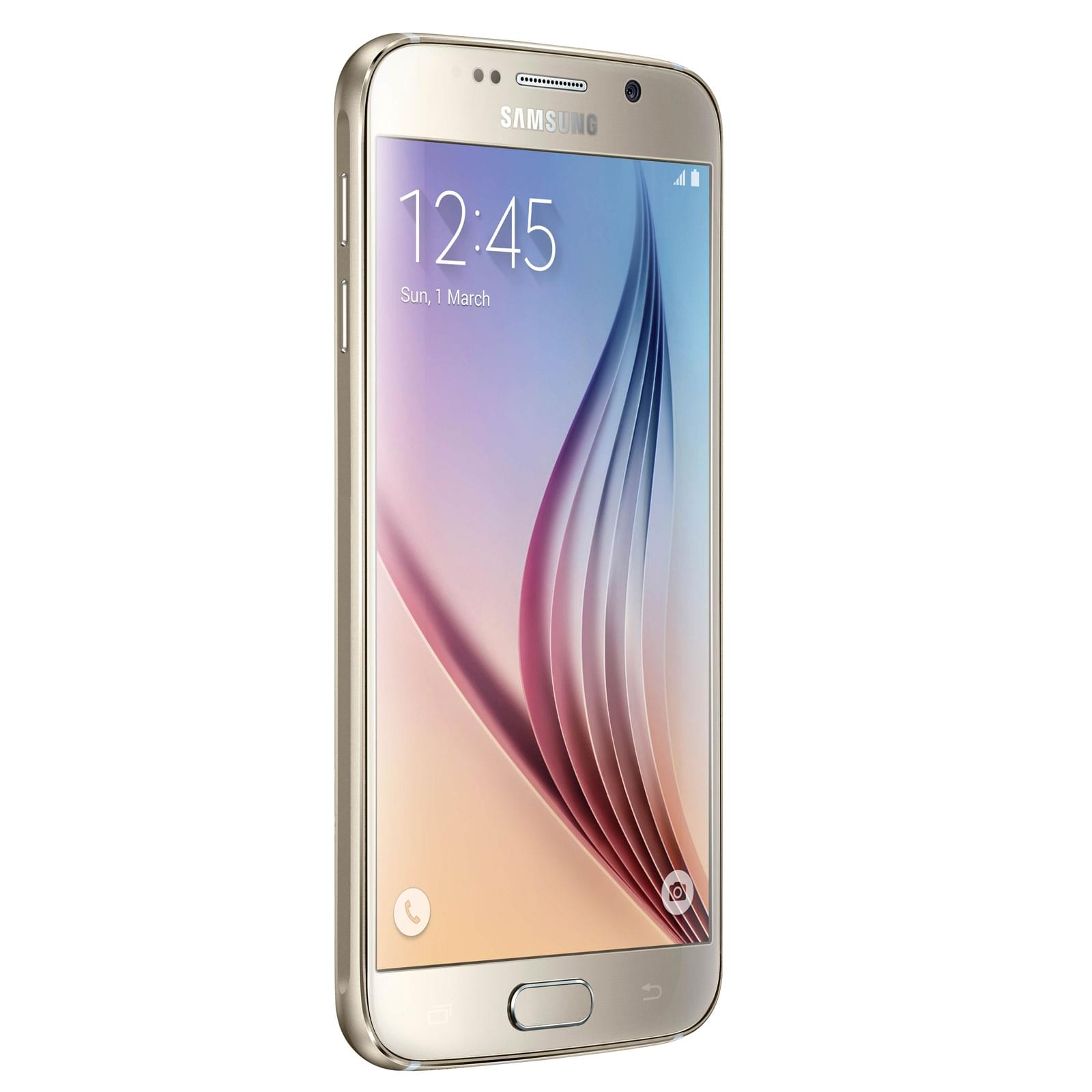 Samsung Galaxy S6 32Gb Gold G920F (SM-G920FZDAXEF) - Achat / Vente Téléphonie sur Cybertek.fr - 0