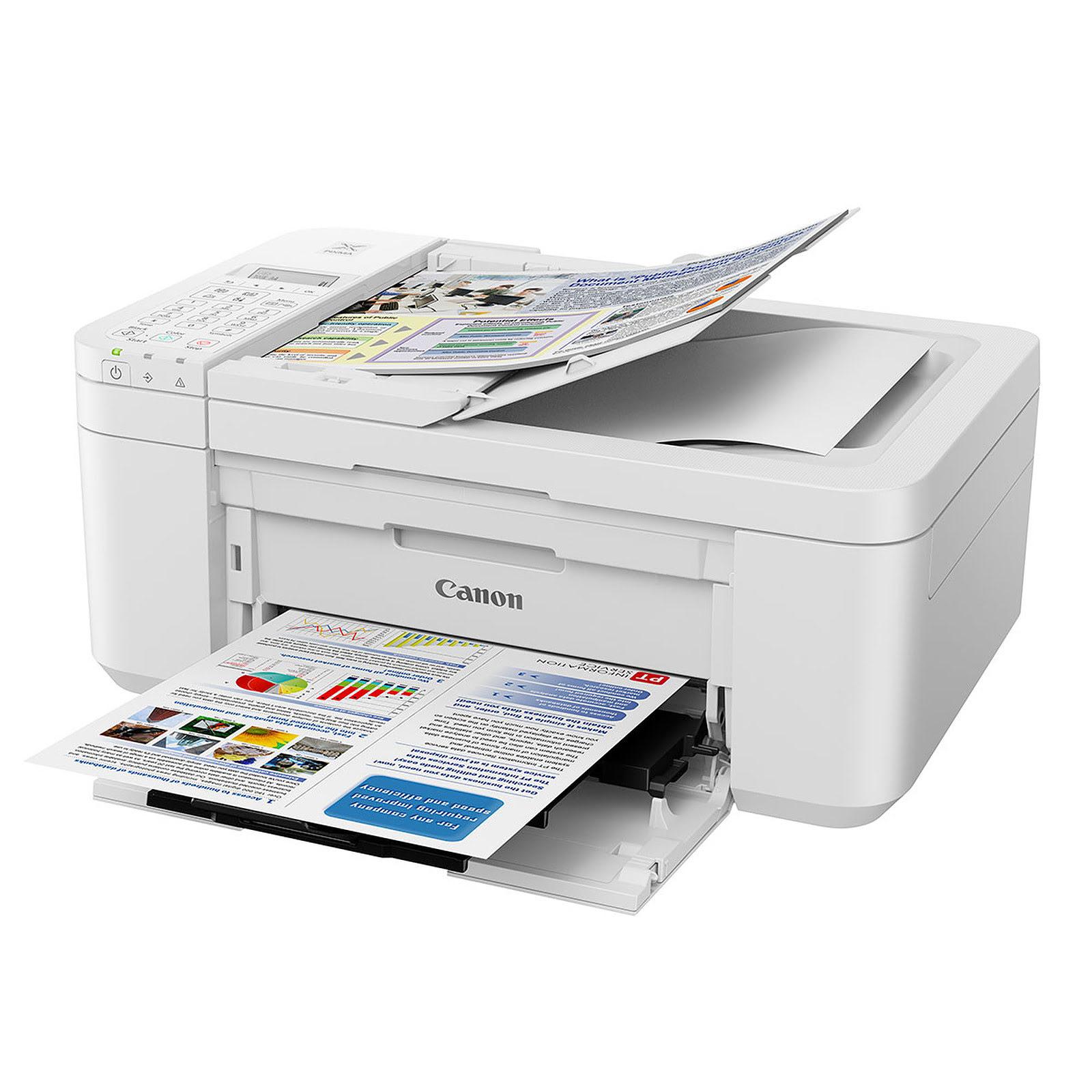 Imprimante multifonction Canon PIXMA TR4551 White - Cybertek.fr - 3