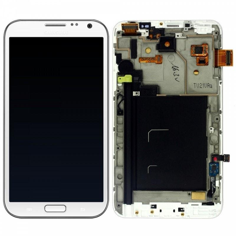 No Name Vitre+Dalle Samsung Galaxy Note 4 Gris Sideral (SAMNOTE4001) - Achat / Vente Réparation téléphonie sur Cybertek.fr - 0
