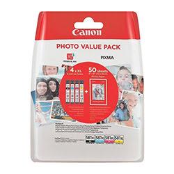 image produit Canon Pack cartouches CLI-581XL - 2052C004 Cybertek