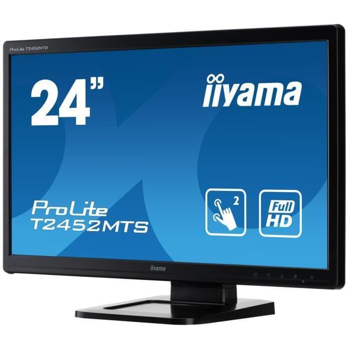 Iiyama T2452MTS-B4 (T2452MTS-B4) - Achat / Vente Ecran PC sur Cybertek.fr - 0