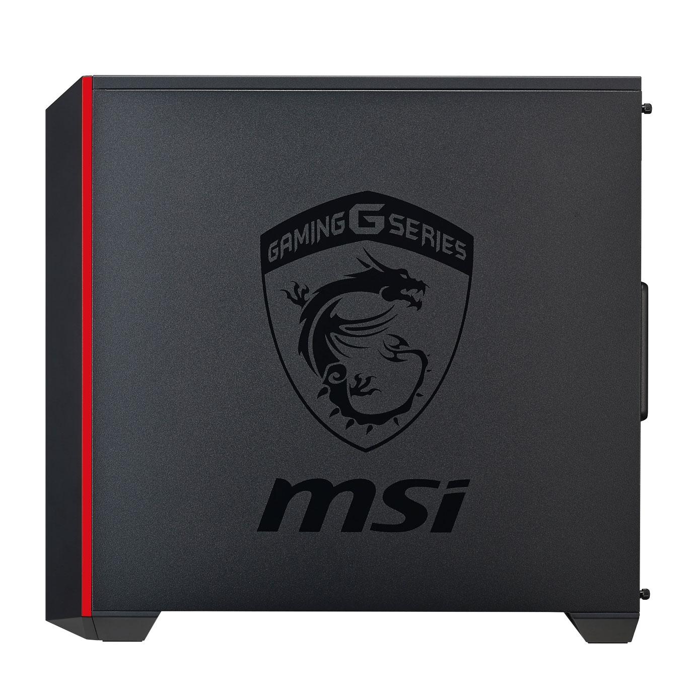 Cooler Master MasterBox 5 MSI MCX-B5S2-KWNN-03-MI Rouge - Boîtier PC - 1