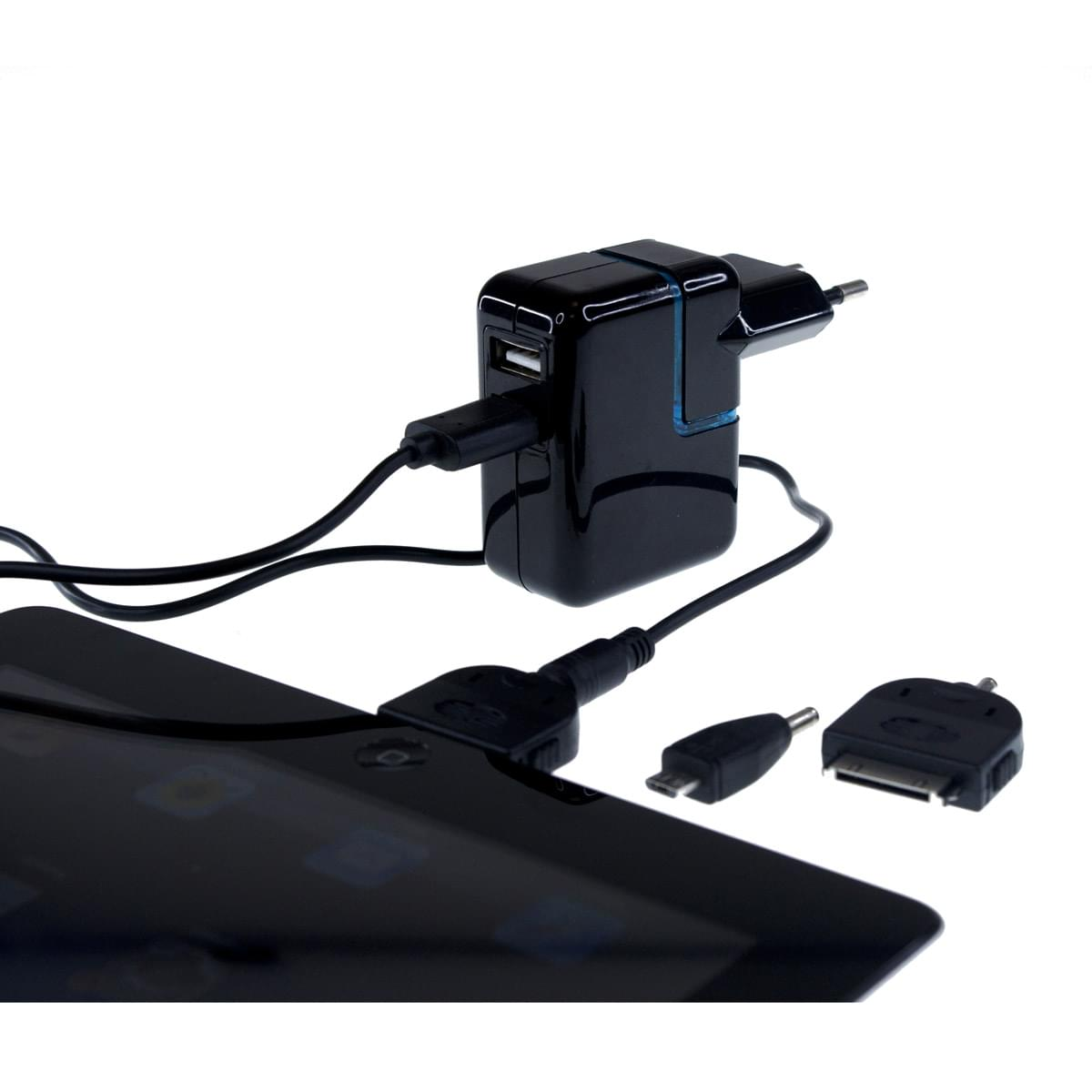 chargeur univ pour tablette samsung apple connec. Black Bedroom Furniture Sets. Home Design Ideas