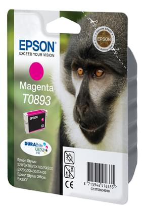 Consommable imprimante Epson Cartouche T0893 Magenta
