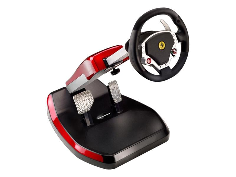 ThrustMaster Cockpit FERRARI Wireless GT F430 - PC/PS3 - Volant Sans Fil - 0