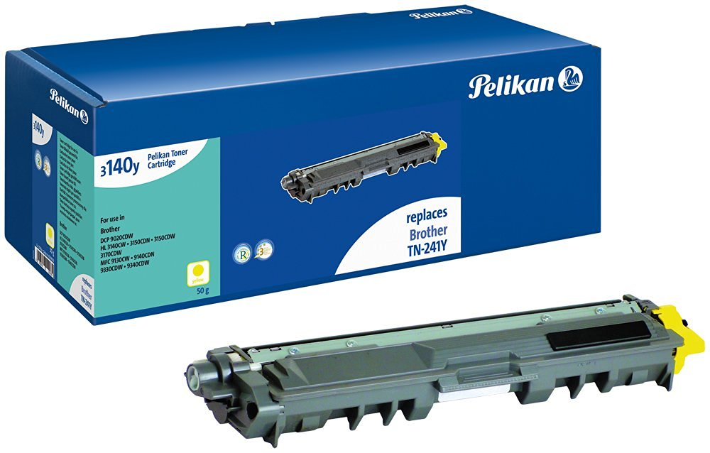 Toner compatible Brother (TN241Y) - 4229939 pour imprimante Laser Pelikan - 0