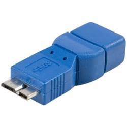 adaptateur USB3.0 A Femelle - micro USB3.0 - Connectique PC - 0