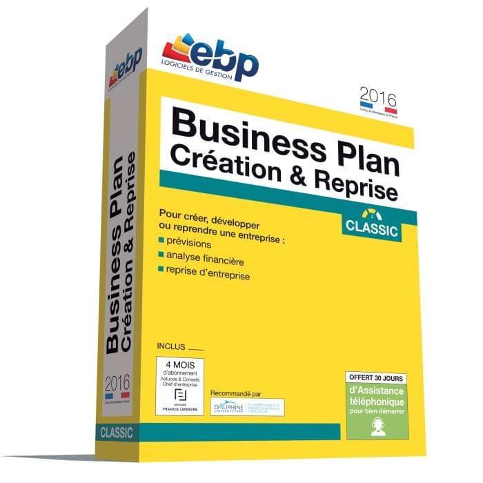 EBP Business Plan Création & Reprise Classic 2016 (1055J080FAA) - Achat / Vente Logiciel application sur Cybertek.fr - 0