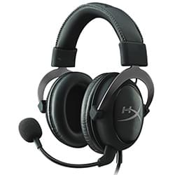 HyperX Micro-casque Cloud II Pro Gaming Headset (Gun Metal) Cybertek