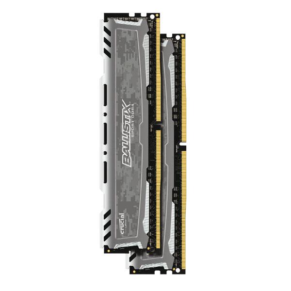 Ballistix BLS2C8G4D26BFSB  16Go DDR4 2666MHz - Mémoire PC - 2