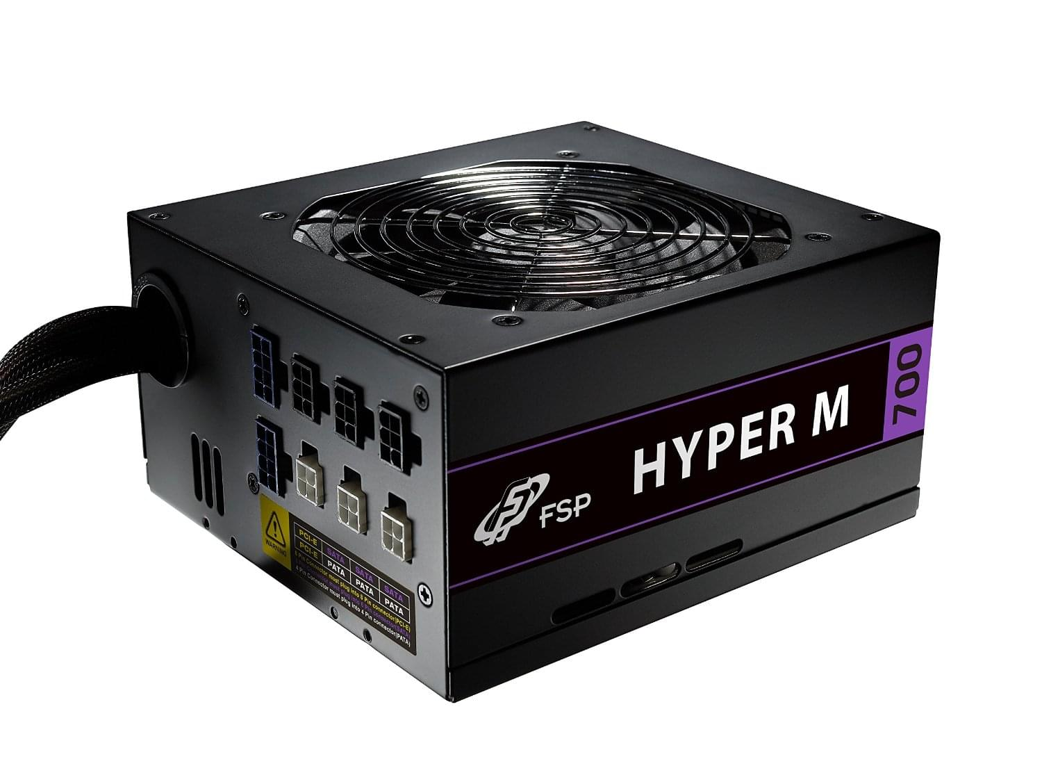 Alimentation PC Fortron (FSP) ATX 700 Watts - Hyper M MF700MS Semi-mod. 80+Brz - 0