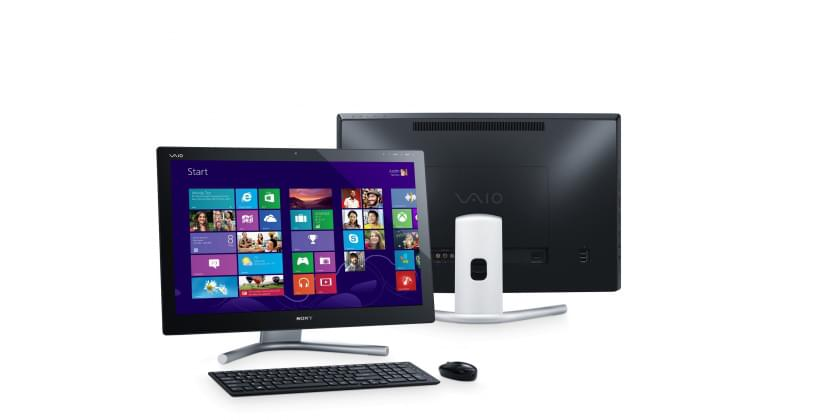 Sony SVL2412Z1E (SVL2412Z1EB.FR5) - Achat / Vente All-In-One PC sur Cybertek.fr - 0