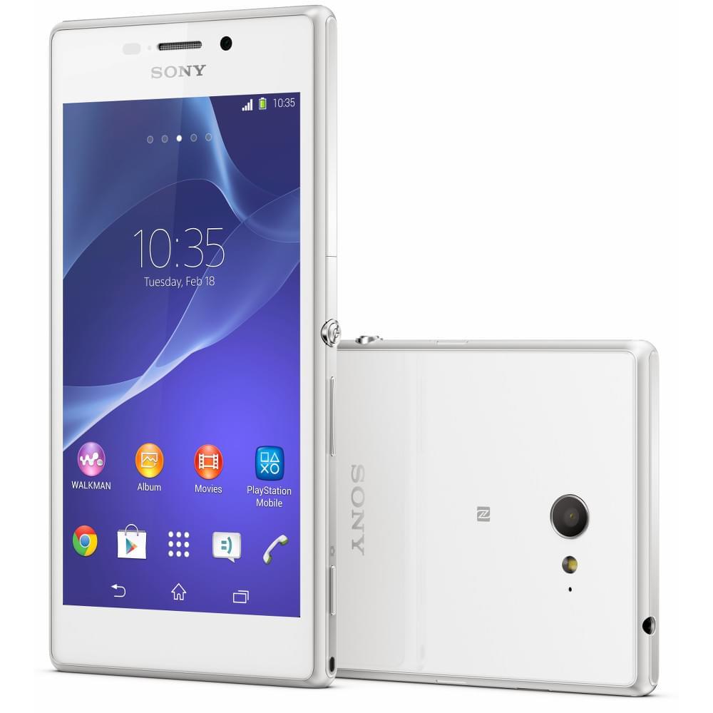 Sony XPeria M2 8Go Blanc - Achat / Vente Téléphonie sur Cybertek.fr - 0