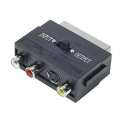 No Name Adaptateur RCA/Peritel (107100 OBSO) - Achat / Vente Connectique TV/Hifi/Video sur Cybertek.fr - 0