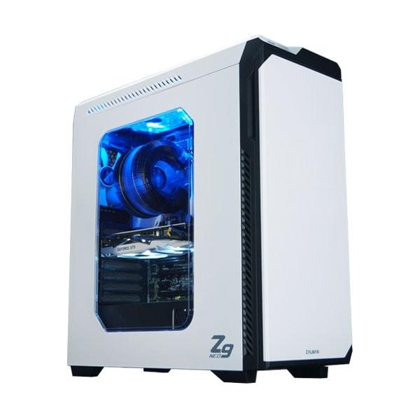 Zalman Z9 NEO White - Boîtier PC Aluminium - Sans Alim - 1