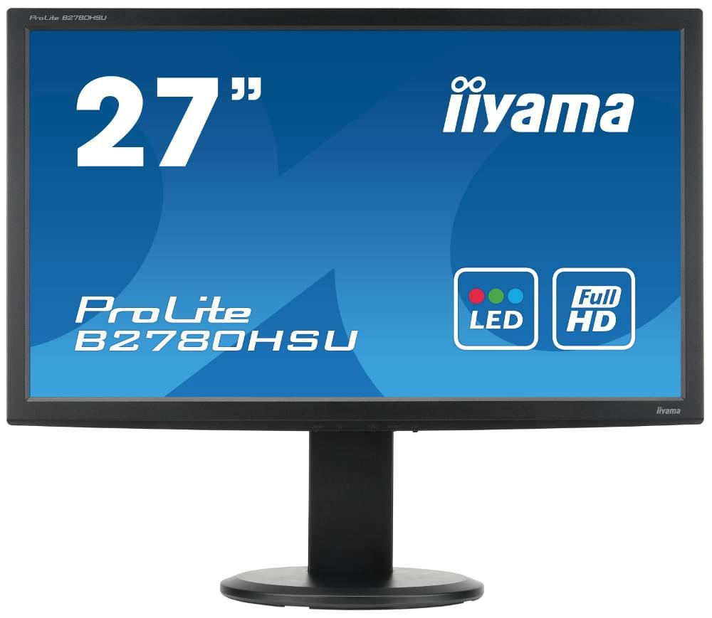Iiyama B2780HSU-B1 (B2780HSU-B1) - Achat / Vente Ecran PC sur Cybertek.fr - 0