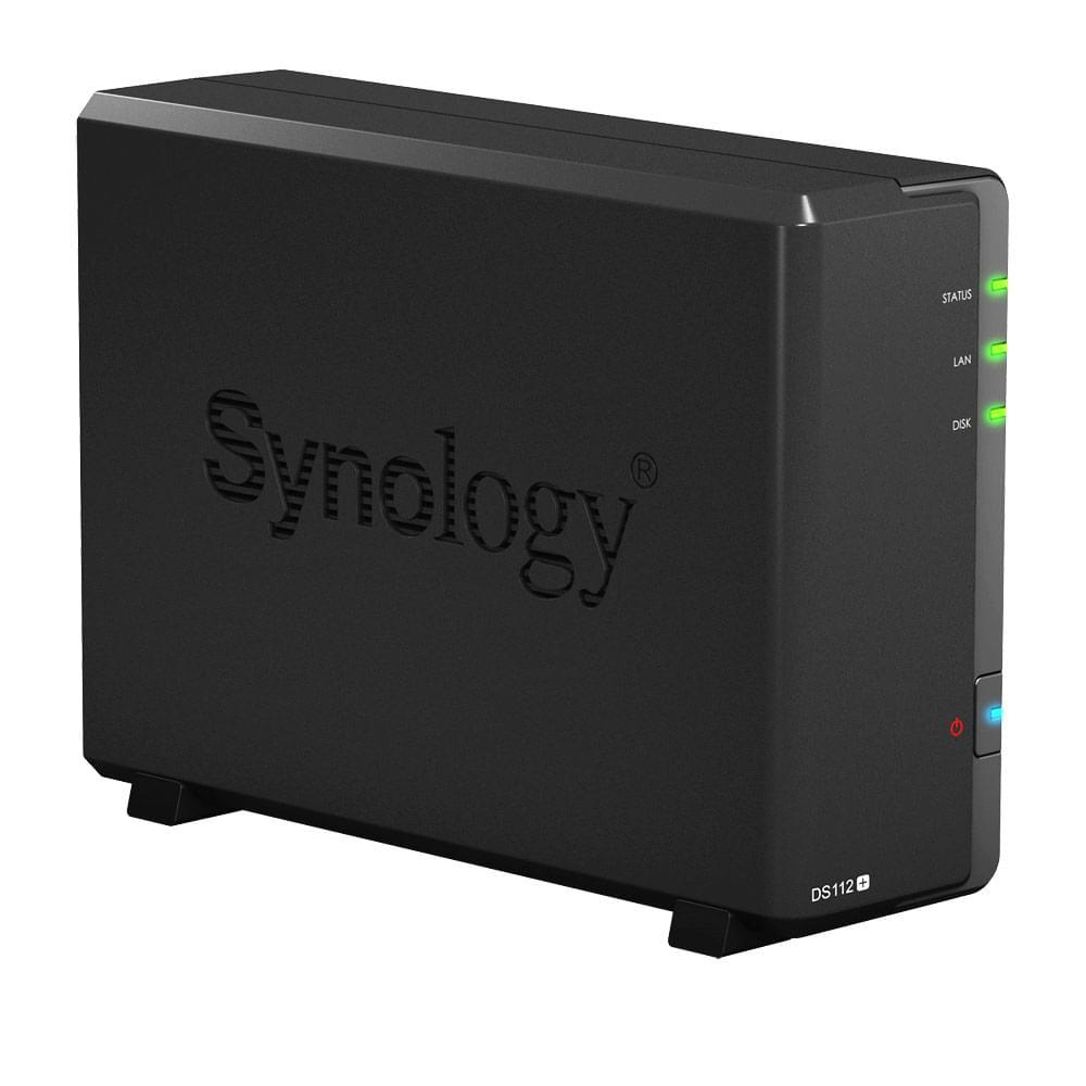 Synology NAS RJ45 (DS112+) - Achat / Vente Boîtier externe sur Cybertek.fr - 0