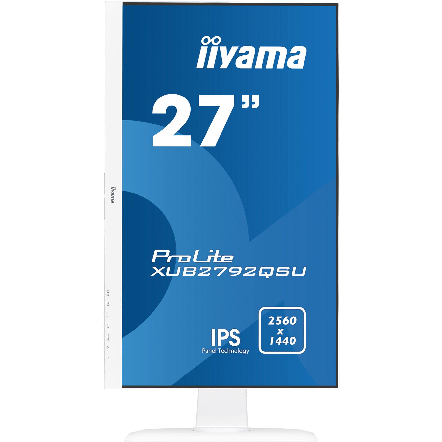 """Iiyama 27""""  XUB2792QSU-W1 - Ecran PC Iiyama - Cybertek.fr - 1"""