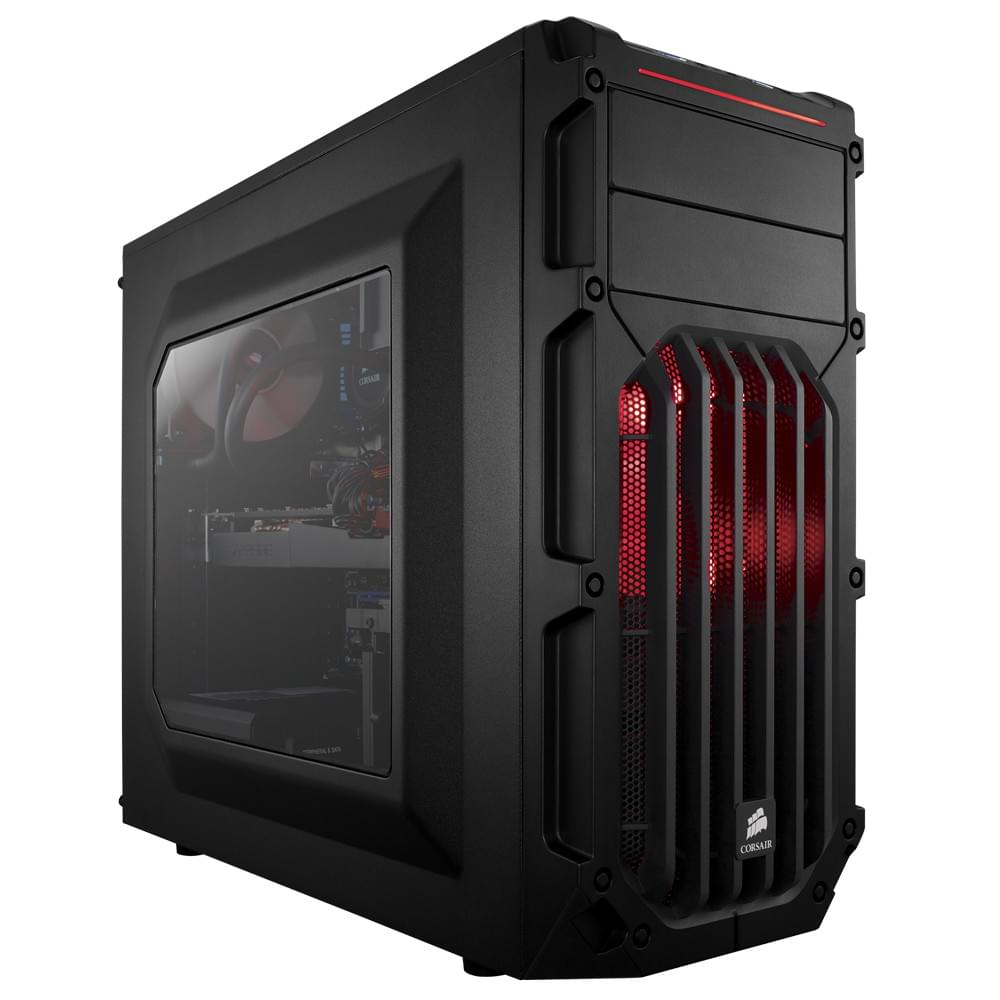 Corsair Carbide SPEC-03 Red LED Windowed (CC-9011052-WW) - Achat / Vente Boîtier PC sur Cybertek.fr - 0