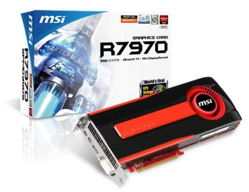 ATI Radeon HD 7970 (R7970-2PMD3GD5 soldé) - Achat / Vente Carte Graphique sur Cybertek.fr - 0