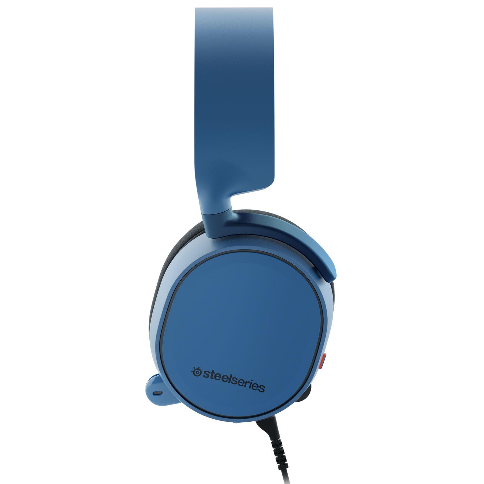 Steelseries Arctis 3 Bleu (61436) - Achat / Vente Micro-casque sur Cybertek.fr - 2