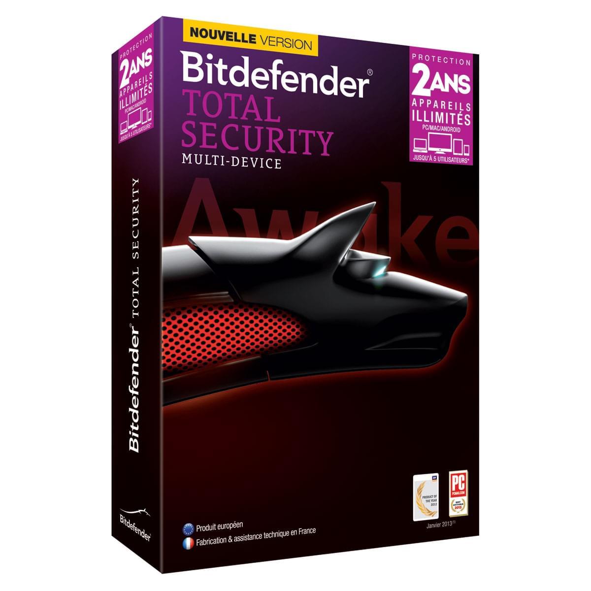 Bitdefender Total Security 2014 (B-FBDTS-4E2T0052) - Achat / Vente Logiciel sécurité sur Cybertek.fr - 0