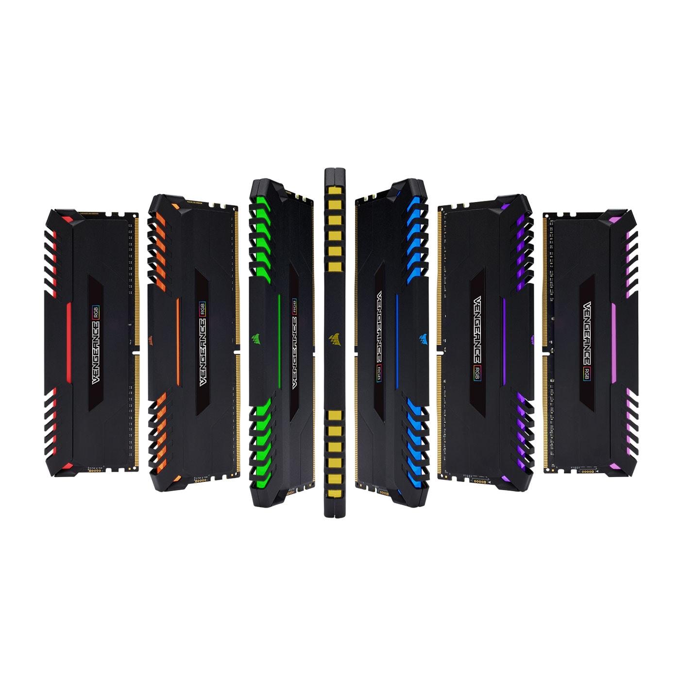 Corsair CMR16GX4M2C3000C15 RGB  16Go DDR4 3000MHz - Mémoire PC - 1