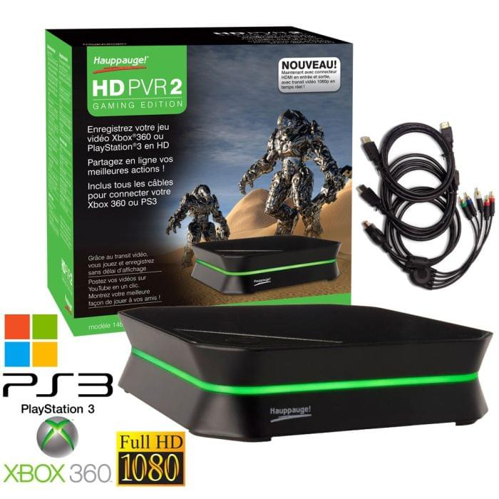 Hauppauge HD PVR2 Gaming Edition (HDMI) - Carte d'acquisition vidéo - 0