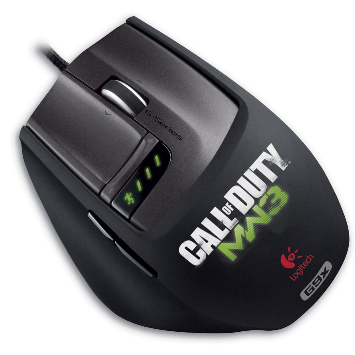 Logitech Souris PC G9X Gaming Mouse Call Of Duty MW3 - 0
