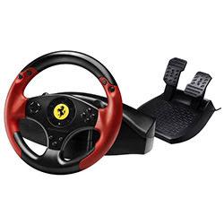 image produit ThrustMaster Ferrari Racing Wheel Red Legend Cybertek