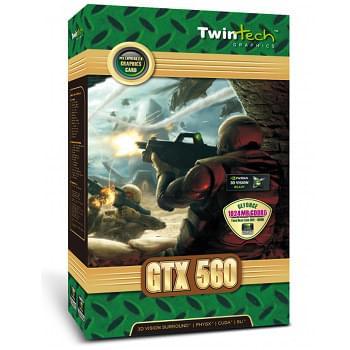 Twintech GF GTX 560 1Go - Carte graphique Twintech - Cybertek.fr - 0