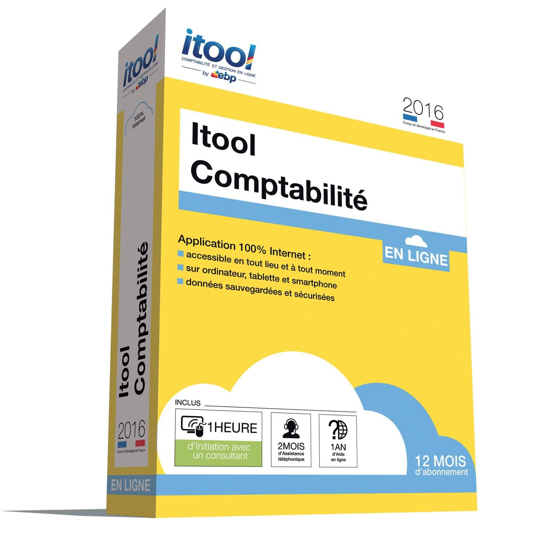 EBP ITOOL Compta En Ligne 2016 (9072A000FAH) - Achat / Vente Logiciel Application sur Cybertek.fr - 0