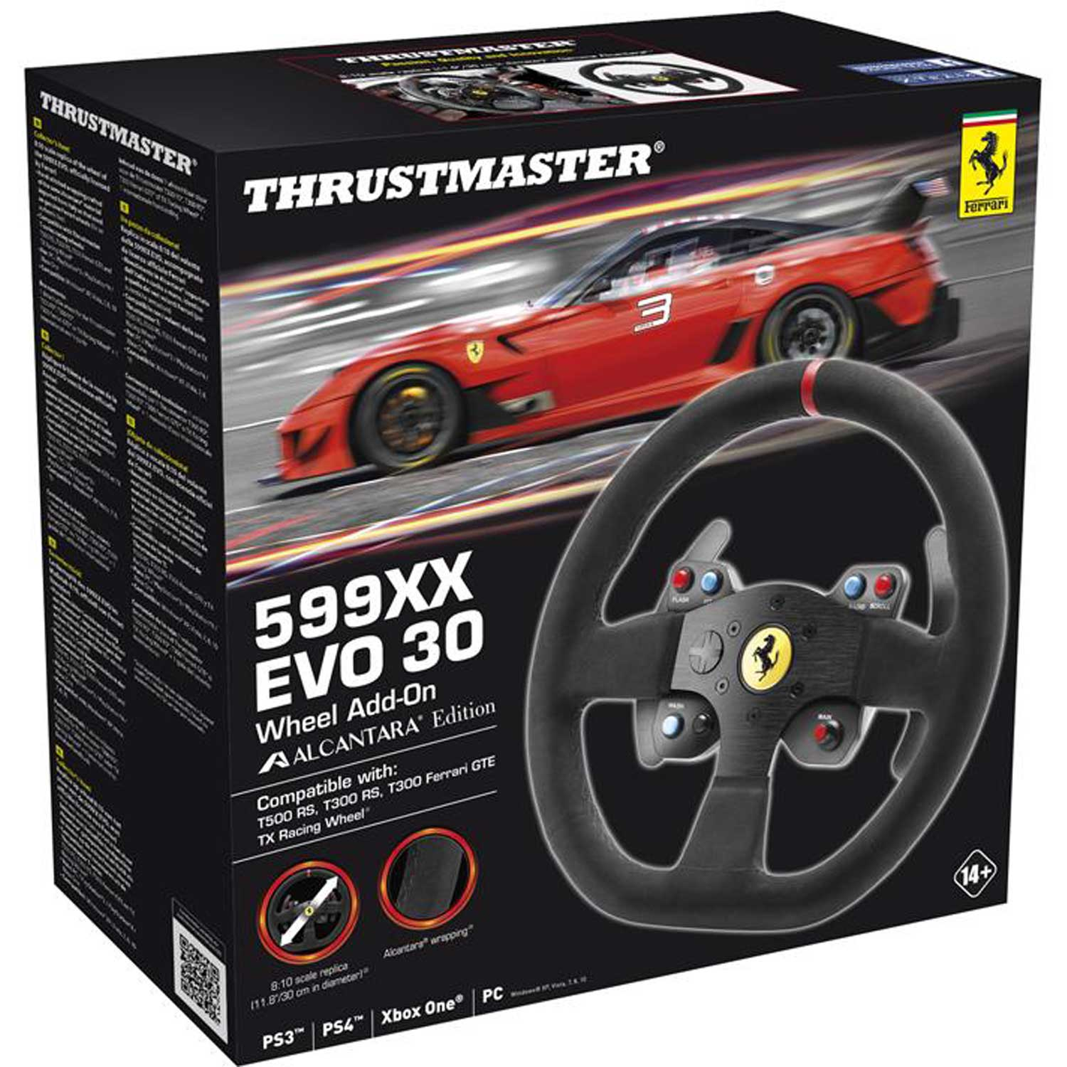 ThrustMaster 599XX EVO 30 Wheel Add-On Alcantara - Périphérique de jeu - 1