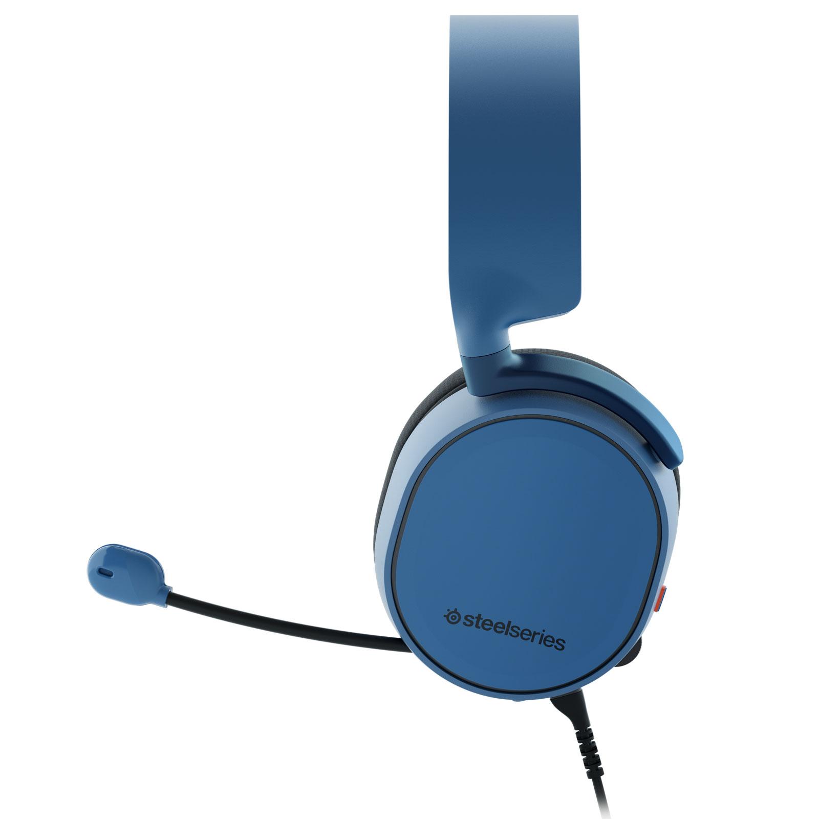 Steelseries Arctis 3 Bleu Stereo Bleu - Micro-casque - Cybertek.fr - 1