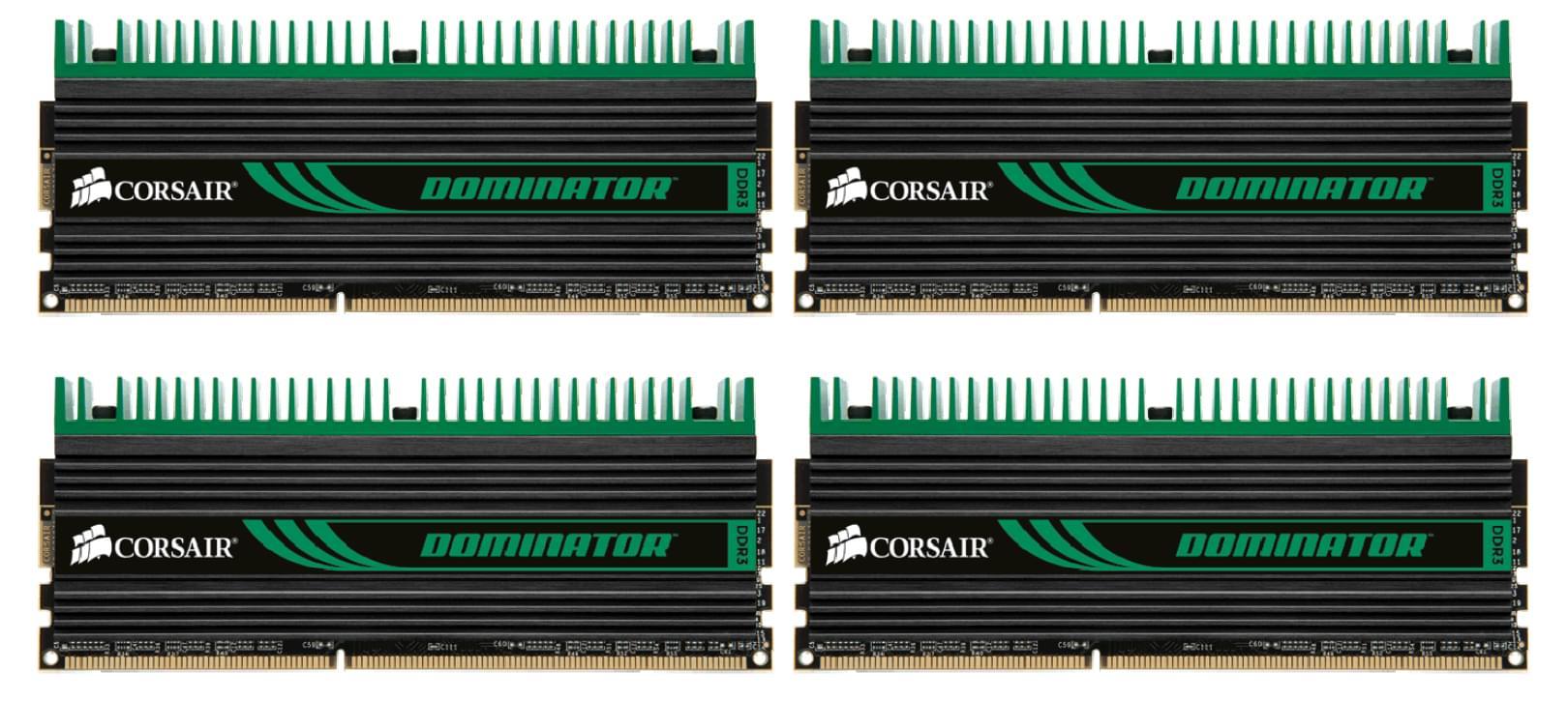 Corsair CMD8GX3M4A1333C7 (4x2Go DDR3 1333 PC10600) (CMD8GX3M4A1333C7) - Achat / Vente Mémoire PC sur Cybertek.fr - 0