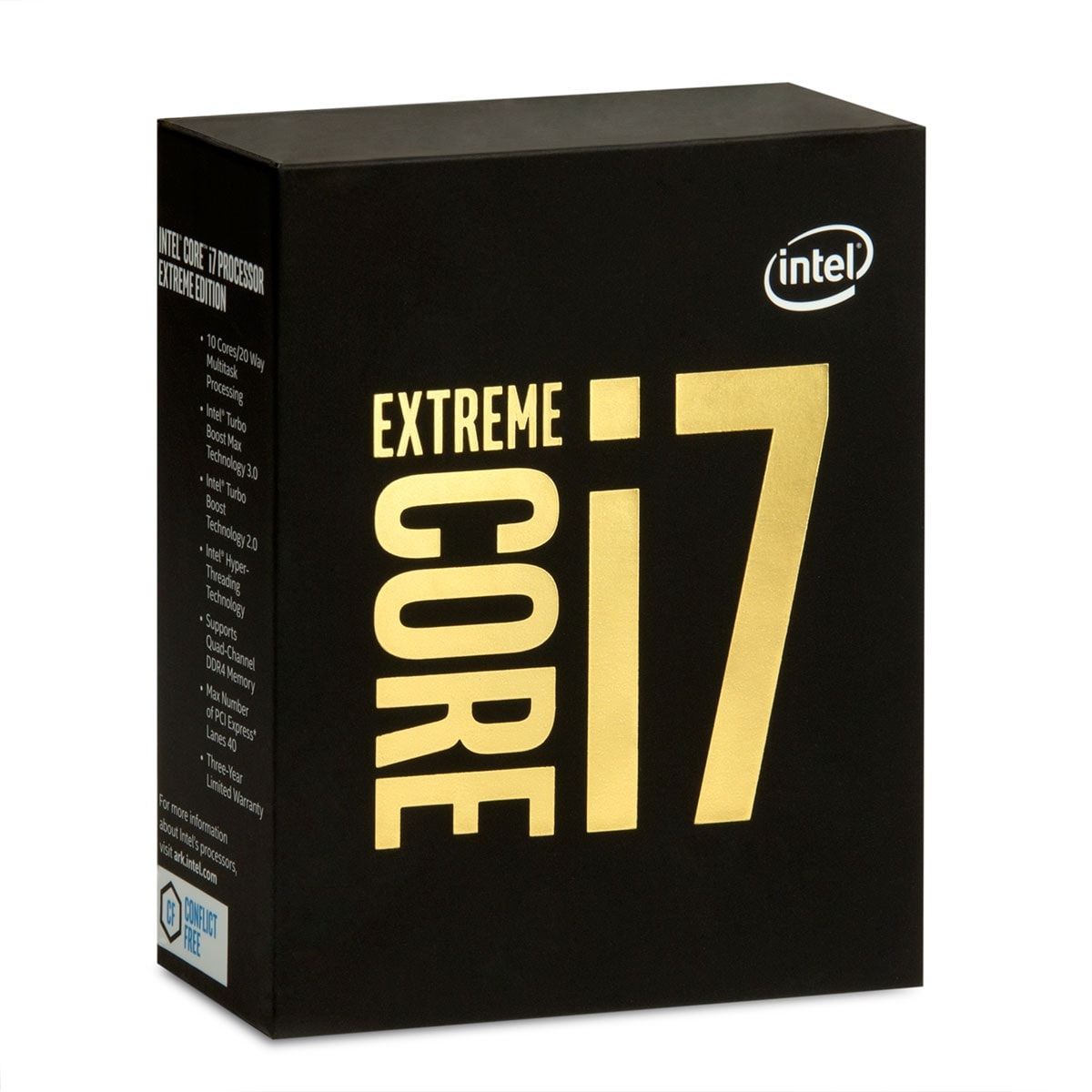 Processeur Intel Core i7 6950X - 3.0GHz - Gamer -  - 0