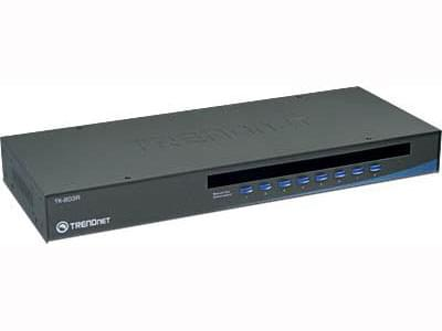 TK-803R 8UC-1 KVM VGA/USB Rackable - Commutateur TrendNet - 0