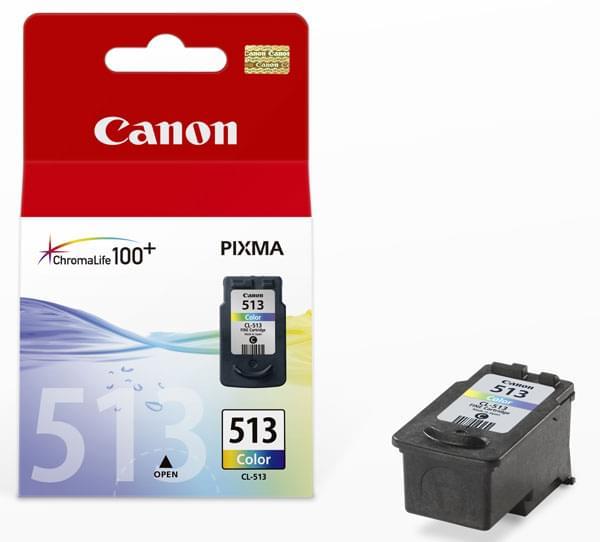 Canon Cartouche CL-513 Couleur (2971B001) - Achat / Vente Consommable Imprimante sur Cybertek.fr - 0