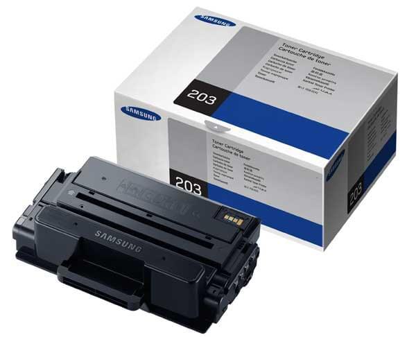 Toner Noir MLT-D203S - 3000p  pour imprimante Laser Samsung - 0