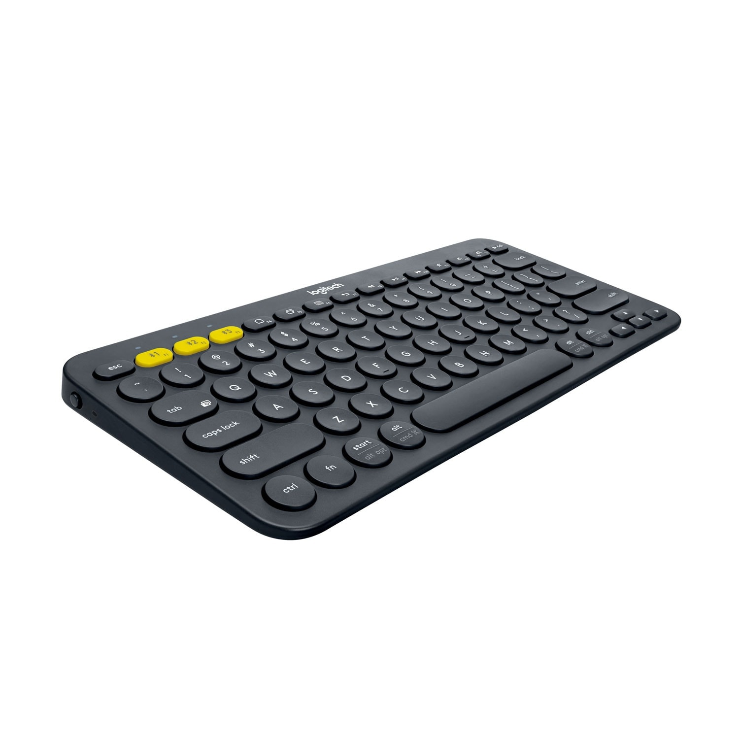Logitech K380 Multi-Device Bluetooth Keyboard Noir - Clavier PC - 1