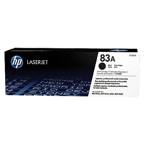 Toner Noir Laserjet 83A  - CF283A pour imprimante  HP - 0