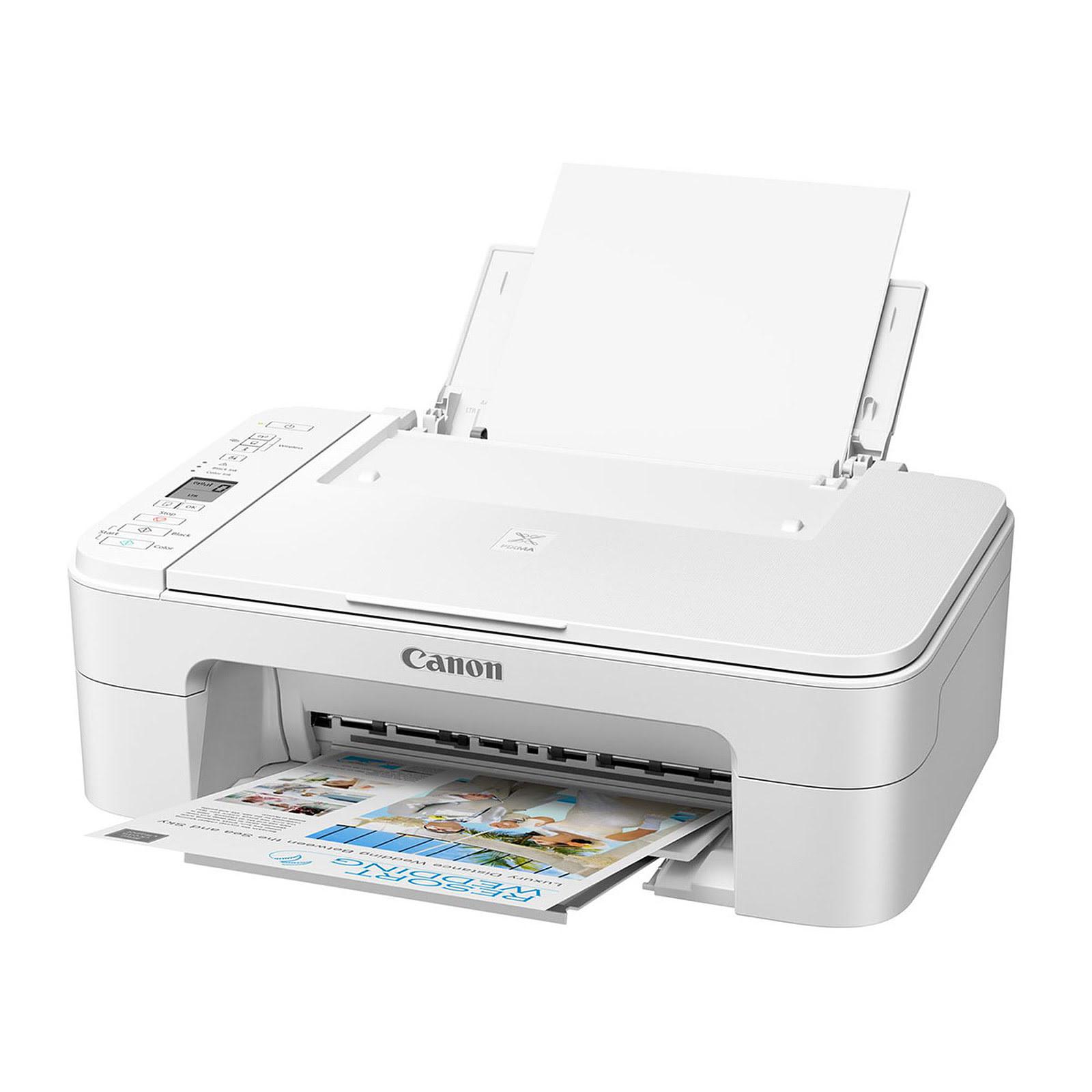 Imprimante multifonction Canon PIXMA TS3351 White - Cybertek.fr - 1
