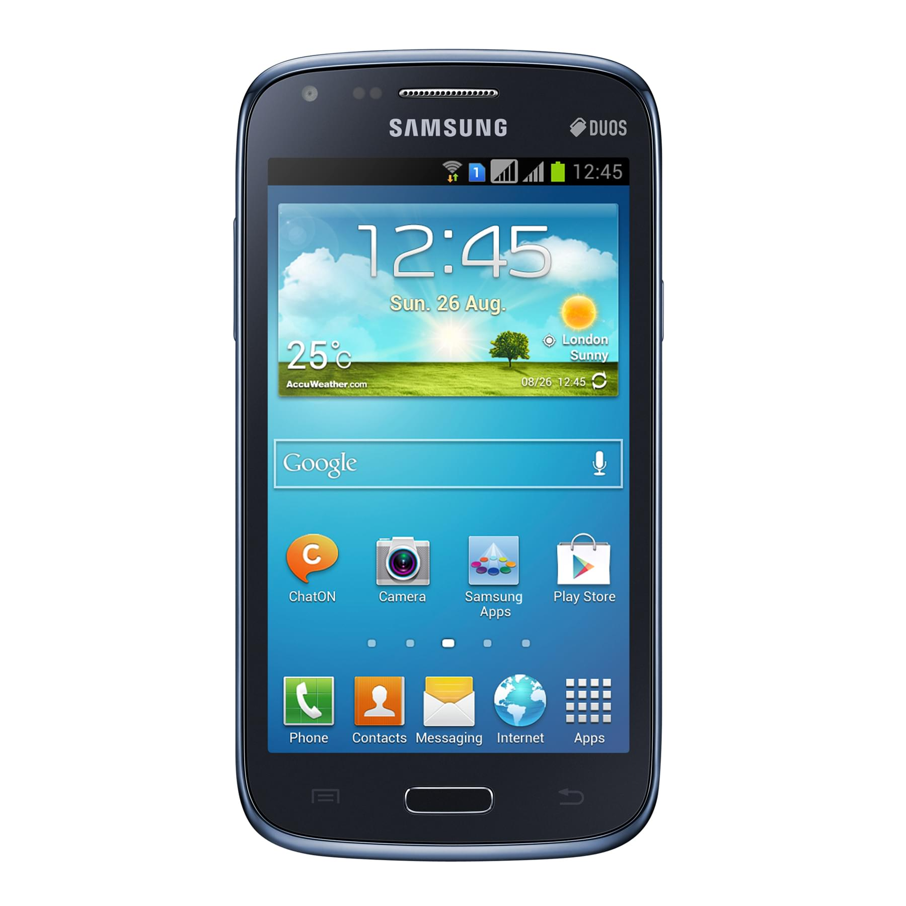 Samsung Galaxy Core Dual SIM Metallic Blue i8262 - Achat / Vente Téléphonie sur Cybertek.fr - 0