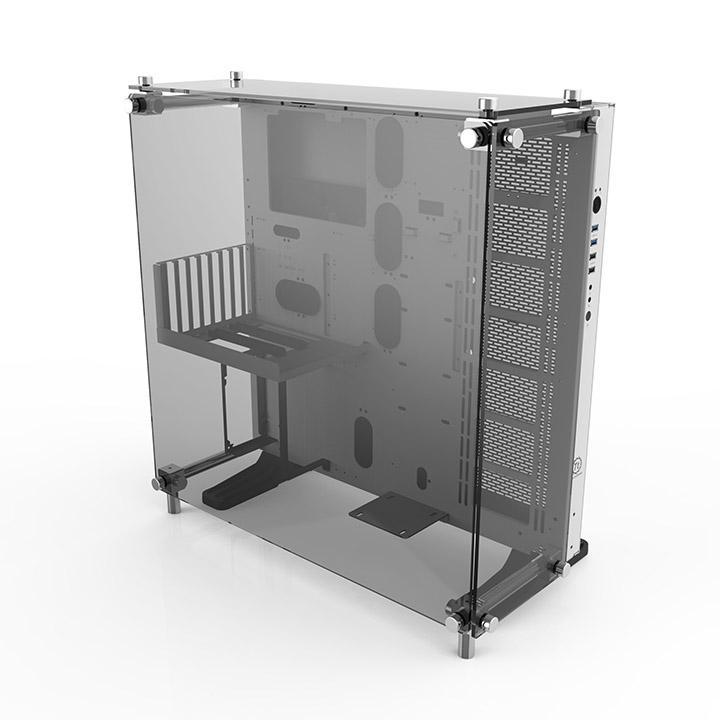 Thermaltake Core P5 Tempered Glass Snow Edition Transparent - Boîtier PC - 0