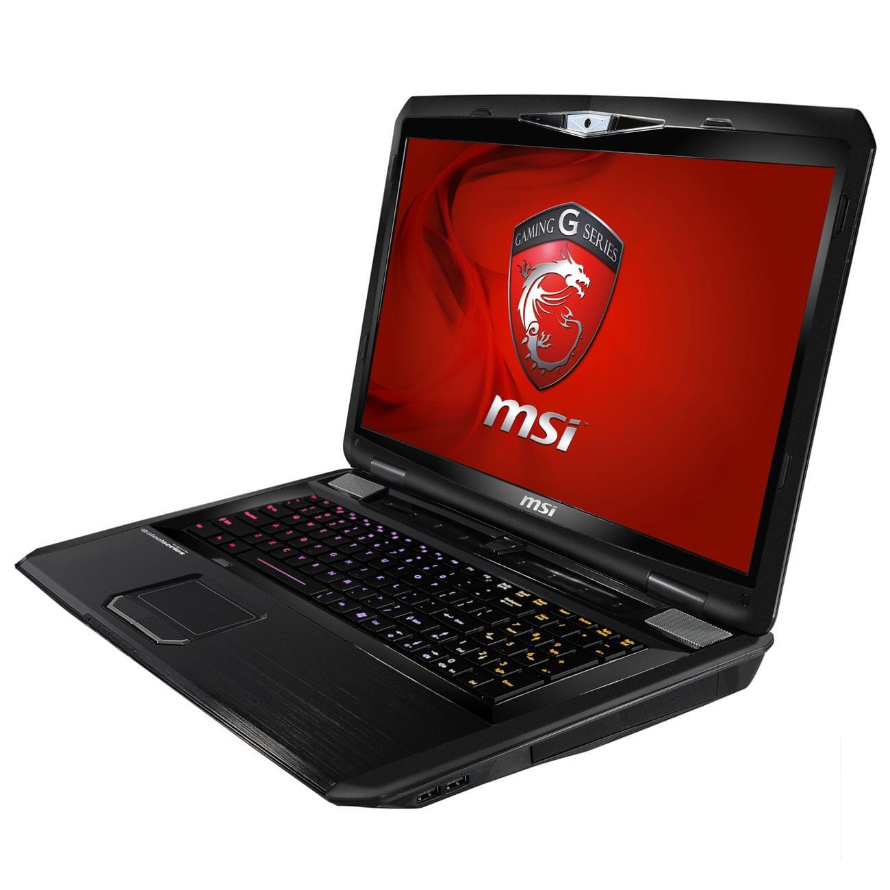 MSI GT70 0NE-473 (GT70 0NE-473) - Achat / Vente PC Portable sur Cybertek.fr - 0