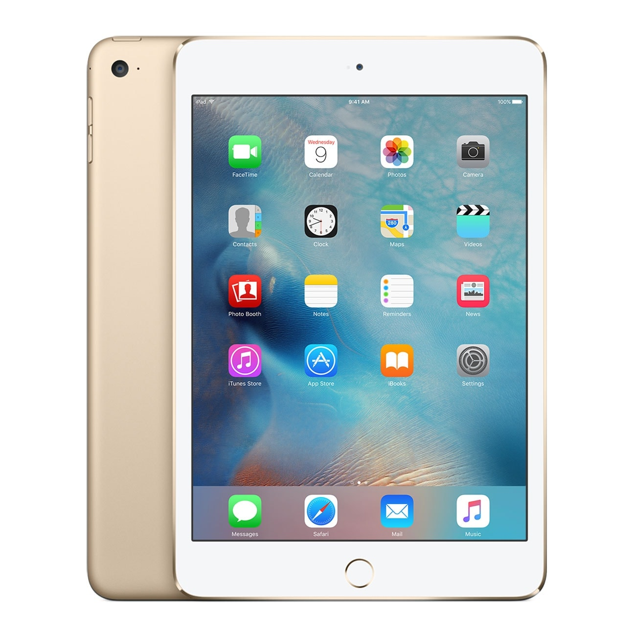 Apple iPad mini 4 Wi-Fi 64Go Or (MK9J2NF/A) - Achat / Vente Tablette Tactile sur Cybertek.fr - 0