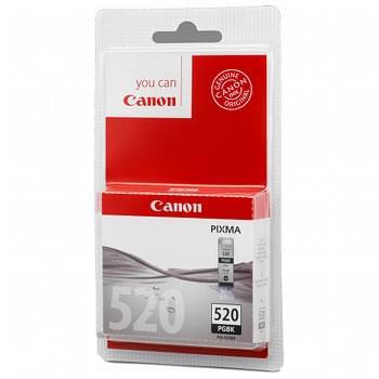 Canon Cartouche PGI-520BK Noir  (2932B001) - Achat / Vente Consommable Imprimante sur Cybertek.fr - 0