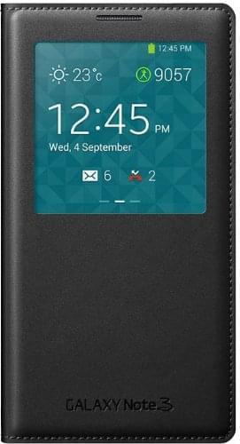 S View Cover pour Galaxy Note 3 Noir - Accessoire téléphonie Samsung - 0