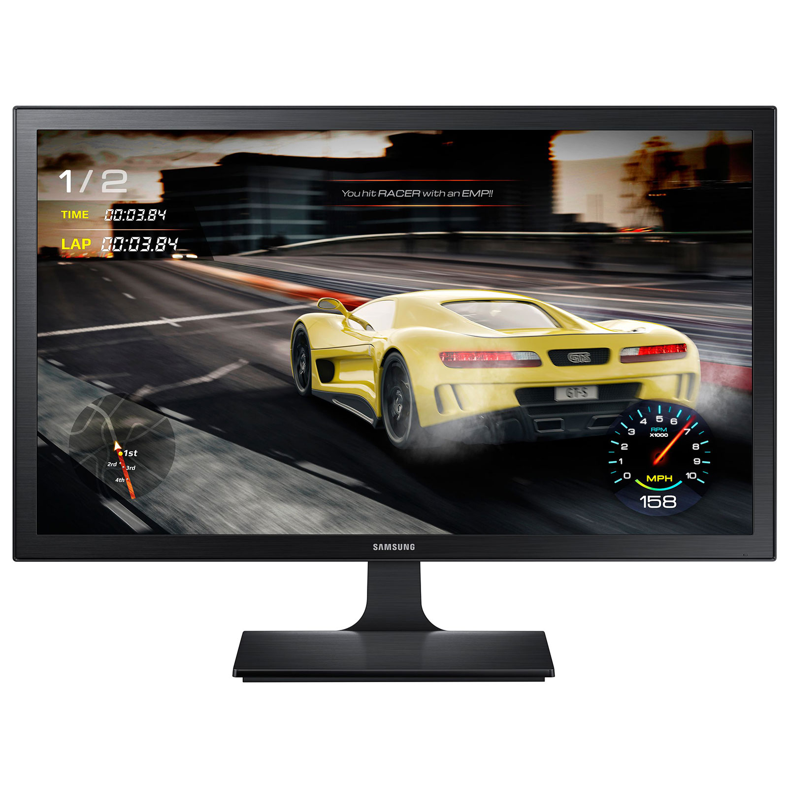 Samsung S27E330H (LS27E330HSX/EN) - Achat / Vente Ecran PC sur Cybertek.fr - 0